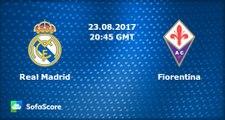 All Goals & Highlights HD - Real Madrid (Esp) 2-1 Fiorentina (Ita) 23.08.2017
