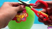 Aventures et des sacs aveugle Oeuf fantomatique géant jouer le le le le la Pac-man doh surprise tmnt lego