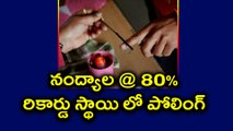 Nandyal By-Election : 80 % Record Level Polling Registered | Oneindia Telugu