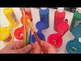 Doigt la famille garderie Rime corps peinture arc en ciel apprentissage les couleurs doigt la famille enfants infirmière