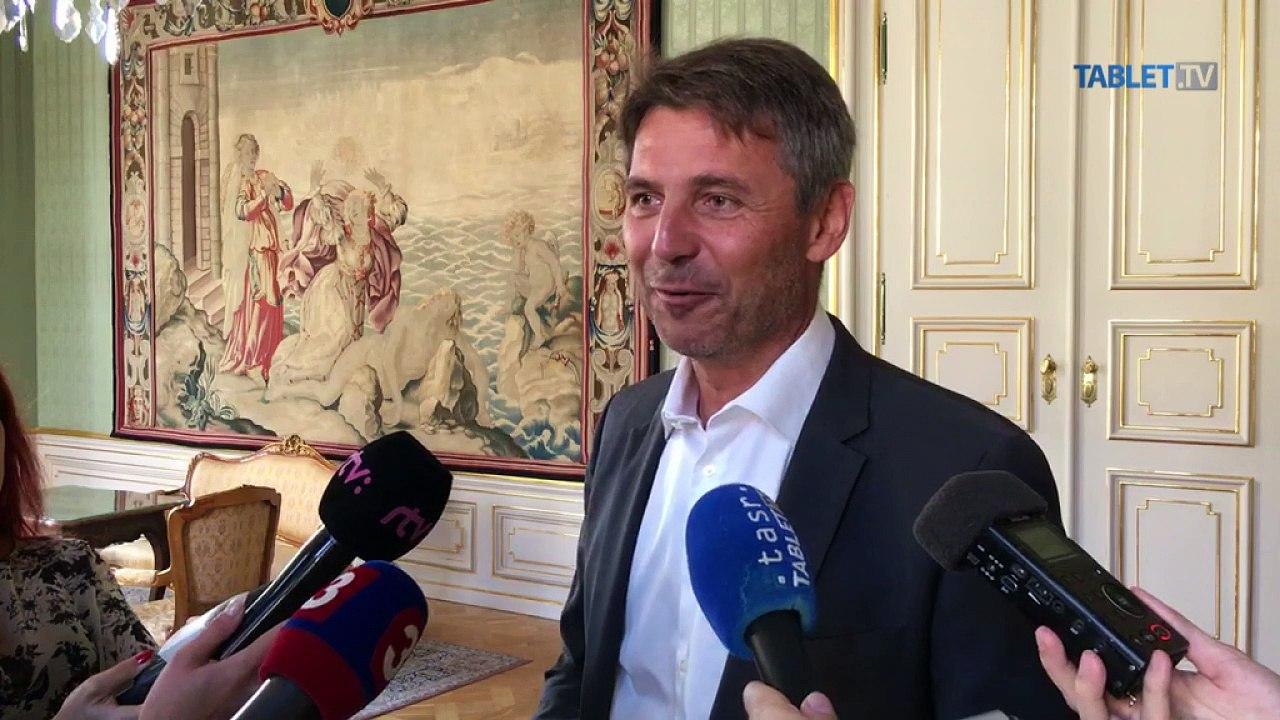 ZÁZNAM: Brífing primátora Bratislavy Iva Nesrovnala pred zasadnutím zastupiteľstva