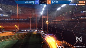 Rocket League - Firstkiller Gets The Tiniest Midair Tap To Slip Around The Defence - by TheRocketDailies