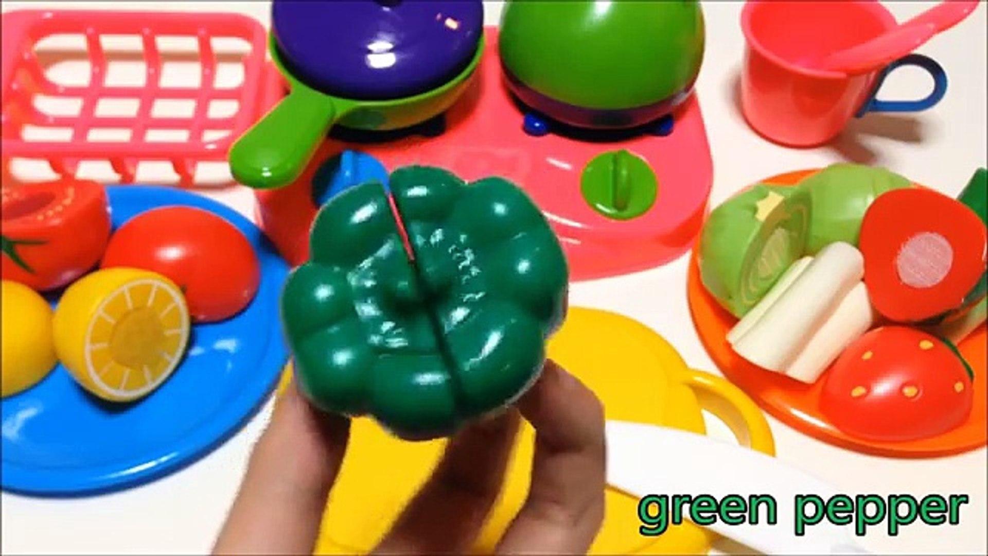 Резка фрукты весело Дети Дети ... час играть Перемена нарезка игрушка овощи липучка с |