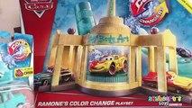 Automático aumentar coches Cambiadores de relámpago Nuevo salida ella tienda Pixar 2 colores ramones mcqueen mater
