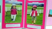 Lori Equestrian Rider Dolls + 2 Brushable American Quarter Horses - Honeyheartsc Video