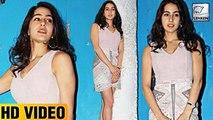 Sara Ali Khan Sizzles In Short Dress At Kedarnath Dinner party