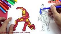 Homme chauve-souris Livre coloration les couleurs pour enfants apprentissage la magie Magie crayon avec Pages vi