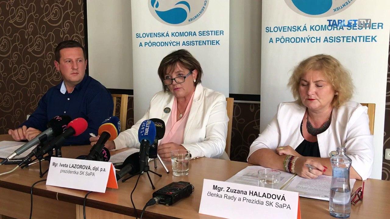 ZÁZNAM: Návrh opatrení pre riešenie akútneho nedostatku sestier