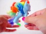 La mignonne tiret amis briller petit la magie Magie marque mon poney arc en ciel jouet eau Mlp unbox