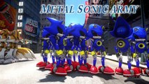 SONIC THE HEDGEHOG AND MILES TAILS PROWER VS DOCTOR EGGMAN AND METAL SONIC - EPIC BATTLE S