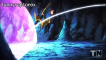 Mega Charizard X vs Mewtwo. ENGLISH. full battle HD ( pokemon the origins)