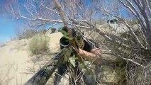 Fusil Caroline du Sud tireur délite Desertfox airsoft counter-sniper village asg m40a3