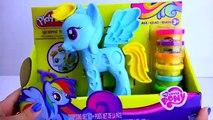 Tiret petit mon jouer poney arc en ciel de comme dessin animé poney doh arc-en-Desch my colle malenykiy