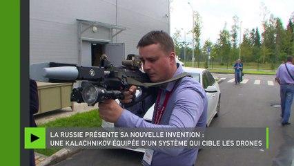 La Russie a développé une kalachnikov équipée d'un système anti-drones