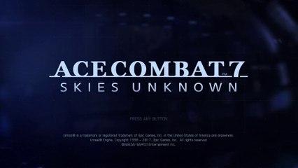 Ace combat 7 - Ciels inconnus - gameplay trailer - Gamescom 2017