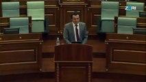 Fjalimi i Albin Kurtit mbajtur sot në seancën e Kuvendit të Kosovës 24-08-2017