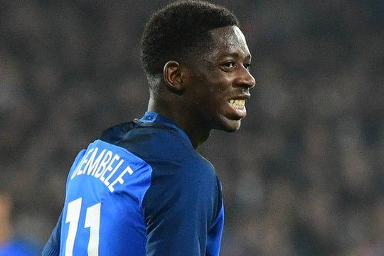 Deschamps justifie l'absence de Dembélé