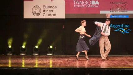 Mundial de Tango 2017, Final Escenario, Cristian Correa, Leah Varsky_ Juan Manuel, Liza Rosales