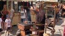 D!CI TV : un forgeron anime les fêtes médiévales d'Embrun
