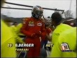Gran Premio del Giappone 1989: Ritiro di Berger, toccata di De Cesaris con ritiro di Pirro e intervista a Cesare Fiorio