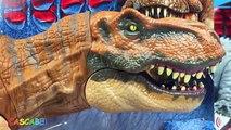 Vacarme monde collection jurrasic des dinosaures tyrannosaure rex t rex indominus Zoomer