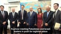 Jared Kushner meets Israeli PM in Tel Aviv