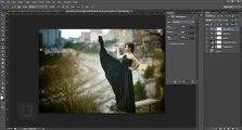 Efectos moda luz Mira foto suave vendimia photoshop tutorial tutorial