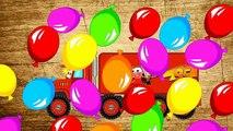 Et des voitures enfants les couleurs pour enfants Apprendre nombres puzzle un camion Mack mcqueen disney
