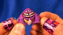 Des voitures dinosaure Pâques des œufs monstres jouer université Doh surprise