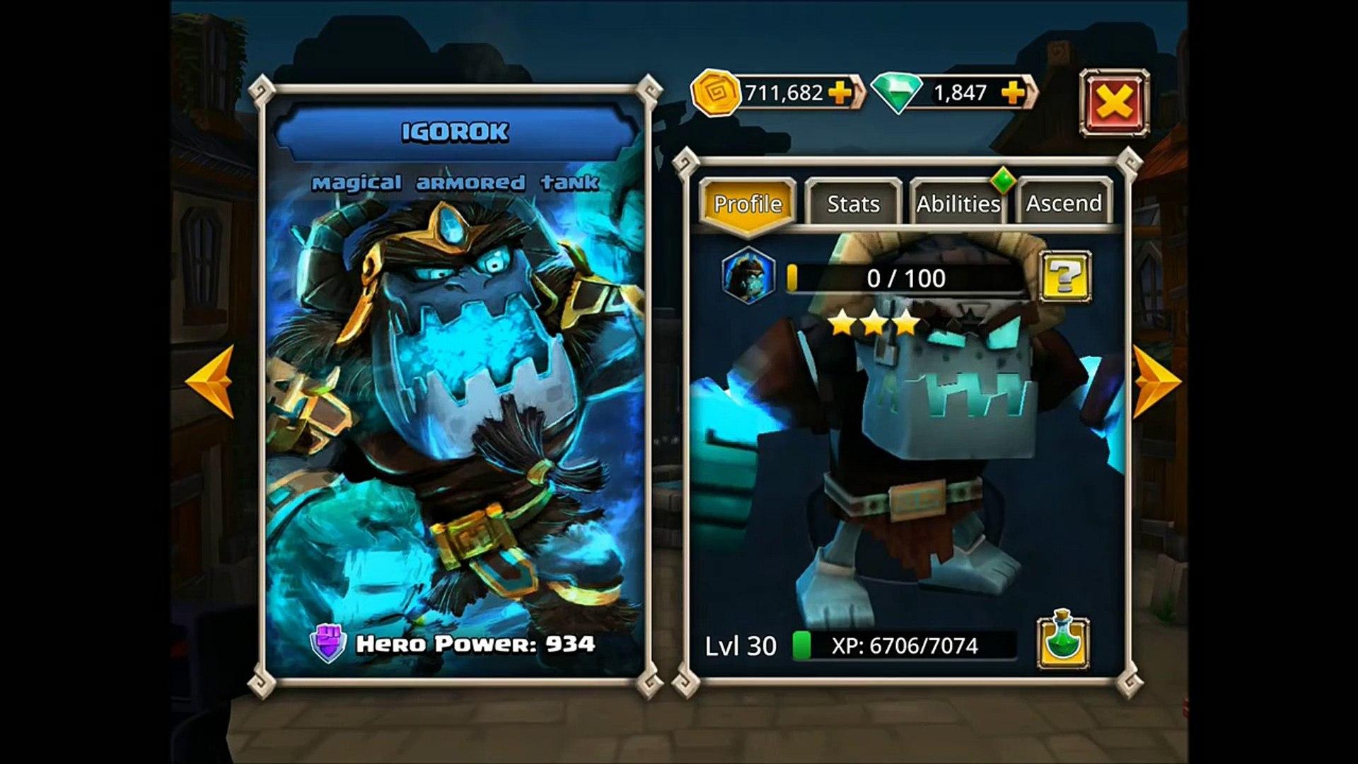 10 IGOROK Heroic Rolls - Merry Christmas!! - Dungeon Boss