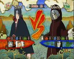 Patron éclater complet sauge orage ultime contre Naruto ninja 3 anbu itachi rtn sasuke orochimaru ba