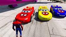 Cargaison des voitures les couleurs foudre garderie avion homme araignée transport Disney mcqueen tror