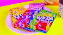 Bricolage manger comestible gommeux friandises Jello shopkins gummies miniatures shopkins kool-aid jello
