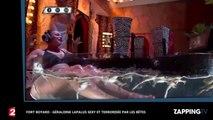 Fort Boyard : Géraldine Lapalus sexy et terrorisée par les bêtes (vidéo)