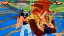 Majin Gogeta SSJ4 VS Omega Shenron (Goku SSJ4 and Majin Vegeta SSJ4 Fusion Mod in DBZ Tenk