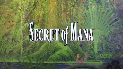 Secret of Mana : Announcement Trailer