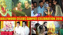 Ganesh Chaturthi 2017: Bollywood Celebrities welcome Ganpati home