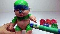 Mal bébé poupée doigt la famille des ballons chanson pour apprentissage les couleurs bébé chansons garderie rimes