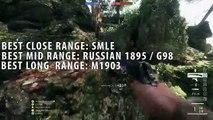 Champ de bataille les meilleures fusil tireur délite 1