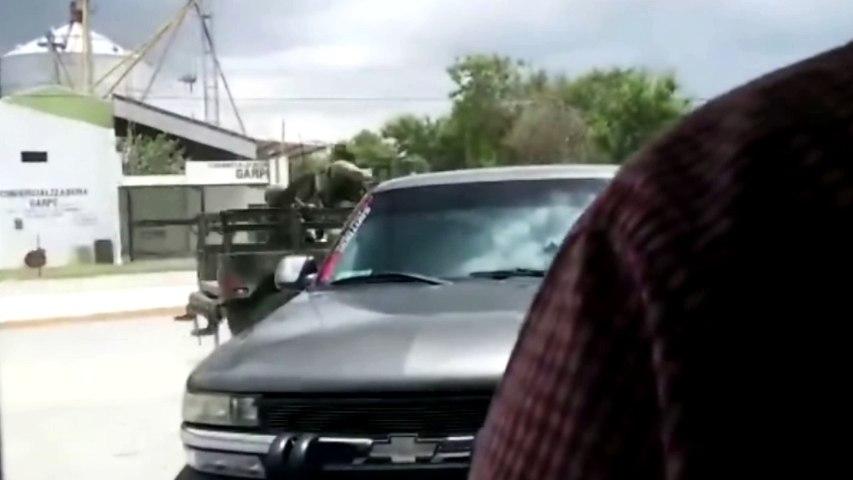 México: balacera entre militares y sicarios narcos en Tamaulipas