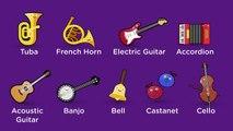 Pour enfants des sons Instruments de musique 27 instruments