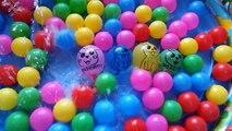 Ballon des ballons les couleurs la famille doigt pour enfants Apprendre chanson humide avec |
