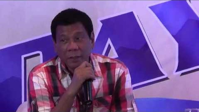 Duterte on election win: I ain't there until I'm there