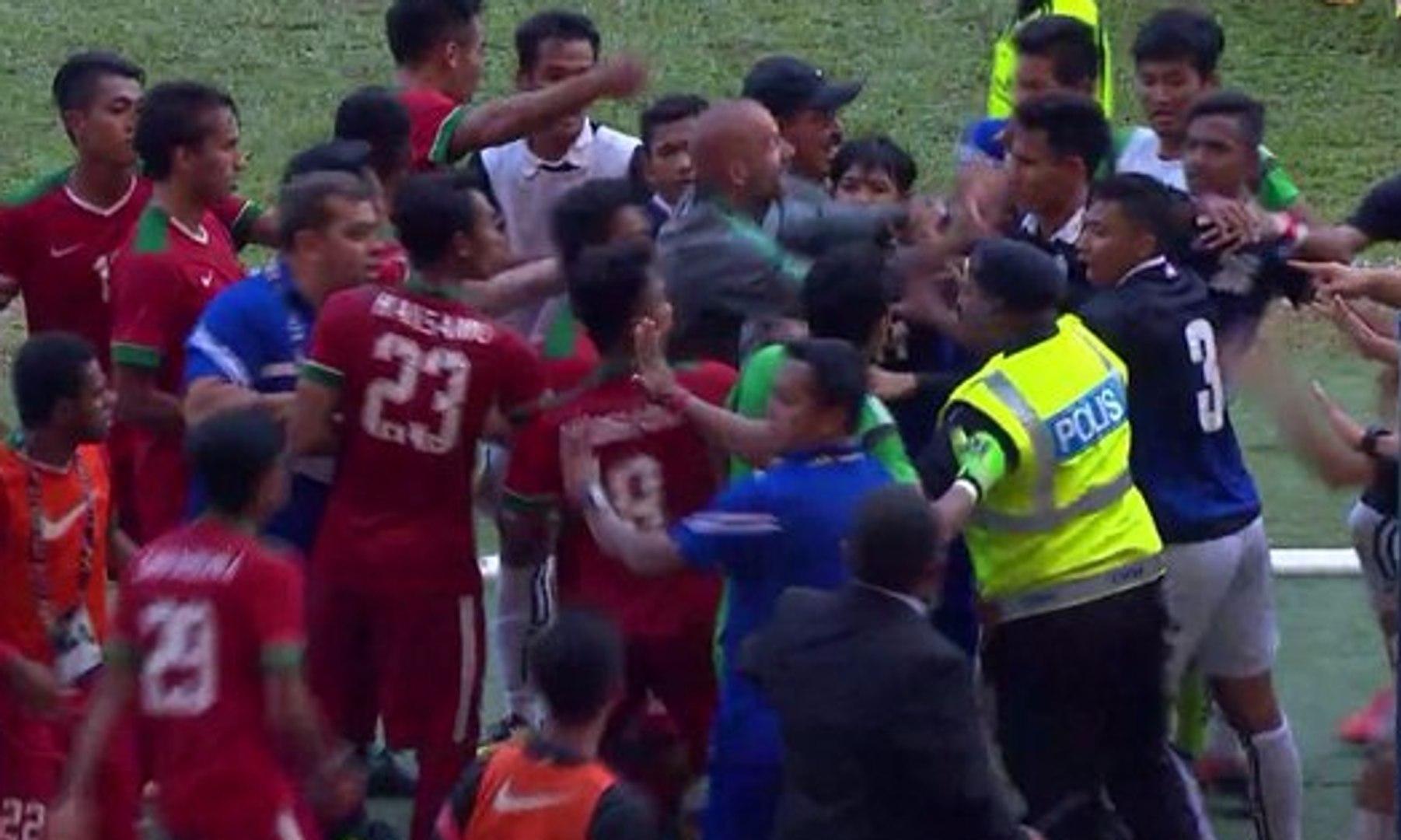 Begini Kericuhan Usai Indonesia vs Kamboja