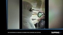 Arabie Saoudite : Une femme arrêtée pour avoir conduit une voiture déguisée en homme (vidéo)