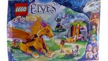 Construir de la cueva elfos fuego velocidad Lego 41175 lava del dragón
