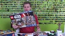 LEGO Star Wars Battle on Takodana (Timelapse & Review) - Set 75139