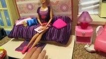 Para cómo hacer una casa de muñecas casa de muñecas Barbie con sus manos de las niñas juguetes dollho