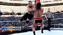 John Cena vs Rusev - Singles match for the WWE United States Championship - WrestleMania 31 - Rusev vs John Cena - Dailymotion Full Match - WrestleMania 31 - WWE