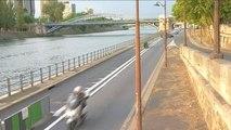 Paris : nouvelles voies sur berges cyclables